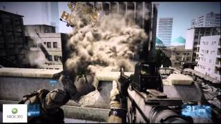 XFX Radeon 6670 vs XBOX 360 Battlefield 3 Comparison
