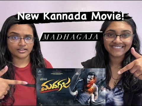 REACTION on : Madhagaja First Look Official Teaser | Sriimurali