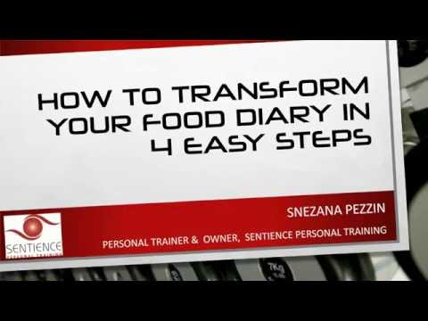 Transform Your Food Diary in 4 Easy Steps