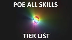 Path of Exile Active Skill Gem Tier List