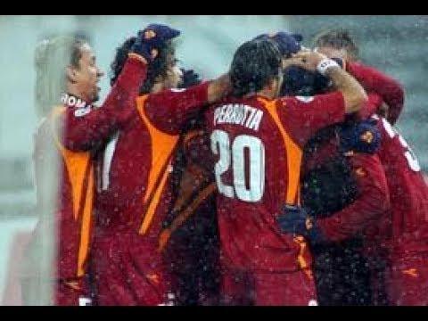 Andata quarti di finale Coppa Italia 2005-06 Juventus-Roma 2-3