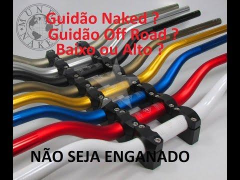 Diferenças Guidão Oxxy Modelo Naked X Off Road Alto ou Baixo