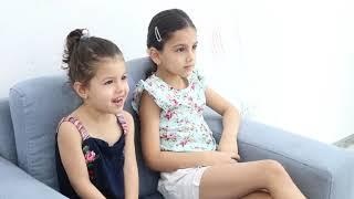 تنقذ اختها من الحمم البركانية ! |  تنقذ توأمتها من الحمم البركانية