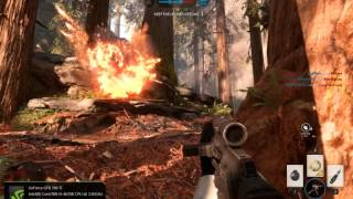 Star Wars  Battlefront  PC - 1920*1200 60fps gameplay