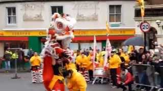 Chinatown Newcastle upon Tyne Lion Dance Chinese New Year