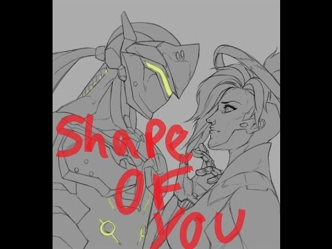 Genji X Mercy - Shape Of You ~Requested By: Brittany Espher~