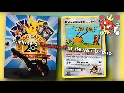 Analyse d'illustration de carte Pokémon #4 - Parlons d'Imakuni? et de son Doduo