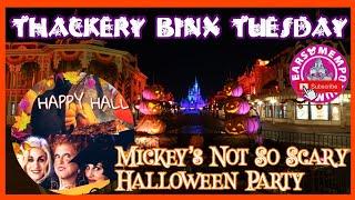 🔴Live:Thackery Binx Tuesday at Mickey's Not So Scary Halloween Party. 'Ohana Party Edition.