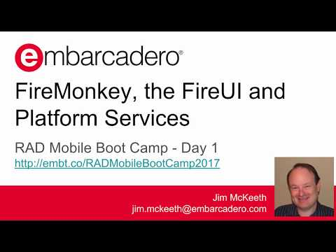 RAD Mobile Boot Camp - Day 1