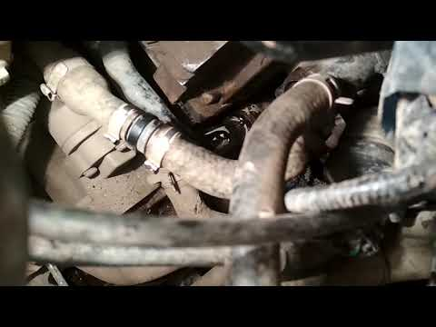 Замена термостата и чистка дроссельной заслонки на Черри Тиго 1.8 L
