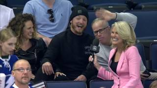 Donaldson, Gerry Dee in Tampa watching Maple Leafs
