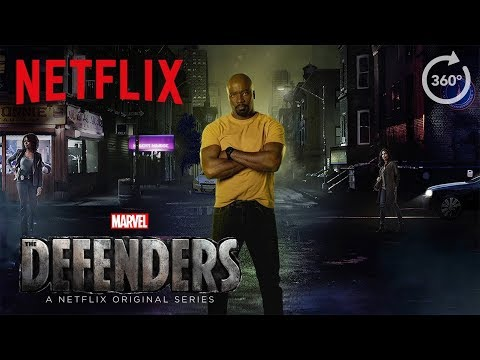 Marvel's The Defenders | 360 Street Scene [HD] | Netflix