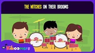 witches on brooms song for kids fun halloween songs for children the kiboomers