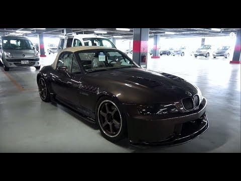 Japan Car Auction 1996 Bmw Z3 Heavily Modified Youtube