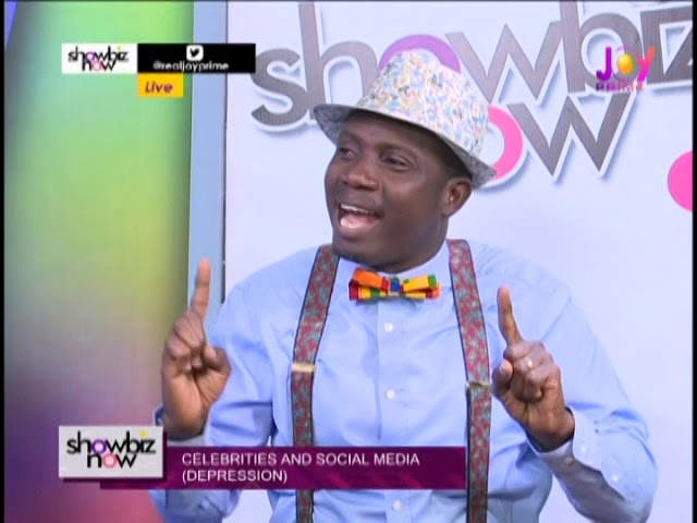 Celebrities And Social Media With Counsellor Lutterodt - Showbiz Now on Joy Prime (28-9-18)