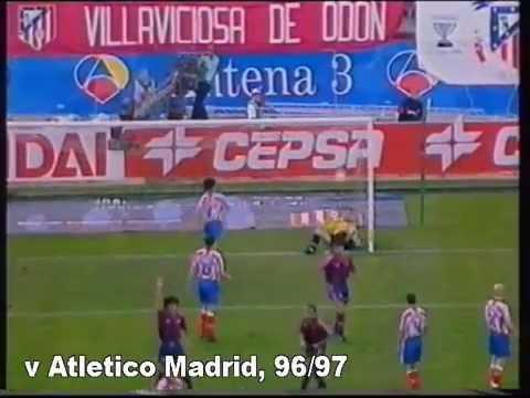 Ivan de la Pena (Barca goals)