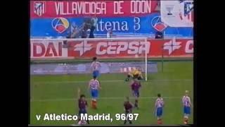 Ivan de la Pena (rare Barca goals)