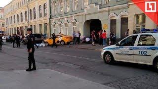 Таксист въехал в болельщиков в Москве