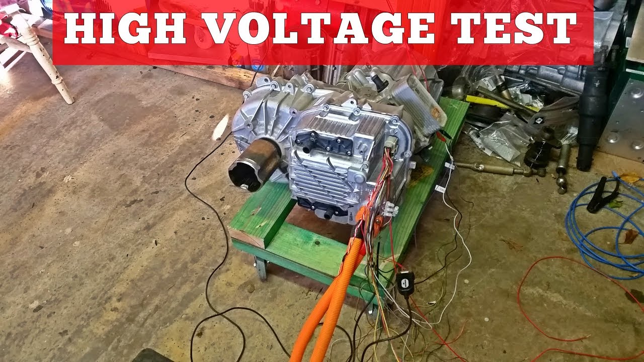 The Tesla Project : Small Drive Unit Full Test