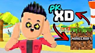 O PK XD VIROU MINECRAFT! MUNDO PKXD DIFERENTE GAMEPLAY PETER TOYS