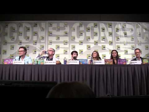 Full Phineas and Ferb panel at San Diego ComicCon 2013 including Marvel, Star Wars