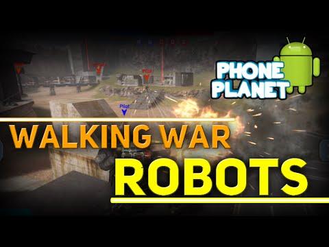 Обзор игры WALKING WAR ROBOTS на ANDROID - Лучшие игры на андроид 2015 PHONE PLANET