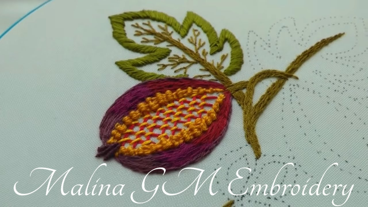 Jacobean Embroidery : Sweet Fig | Easy Stitches | Easy Design