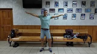 """Суставная гимнастика . Спортивный комплекс """"Олимп"""" , г. Кременная"""