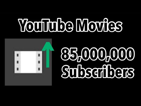 YouTube Movies Hitting 85 Million Subscribers (47 Minutes Timelapse)