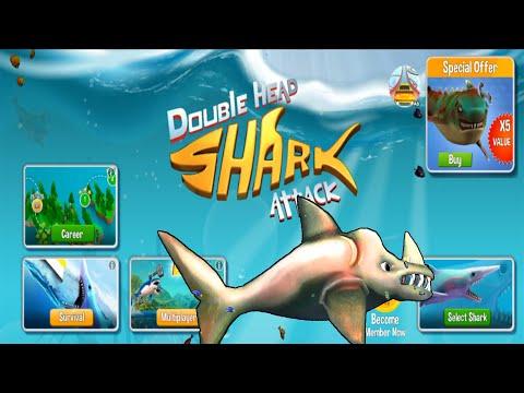 Double Head Shark Attack - RHINO SHARK 2020 - NEW SHARK