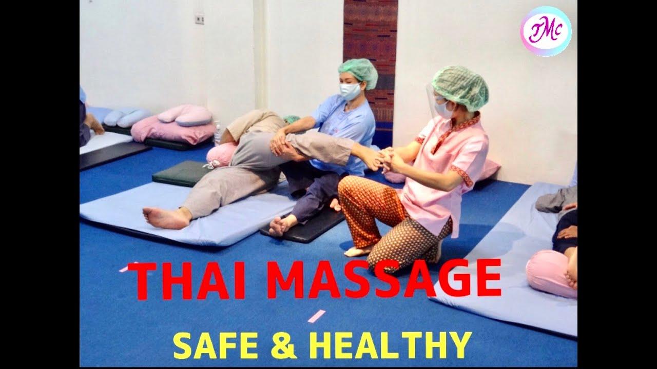 Learn Thai Massage Safe & Healthy  2020
