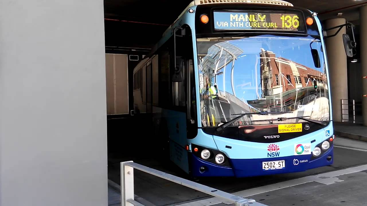 Sydney Buses Volvo Departs Chatswood Bus Terminus Youtube