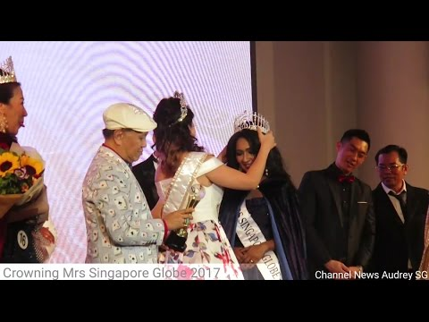 Crowning Mrs Singapore Globe 2017 - Anjalika (Unofficial)
