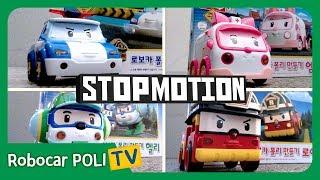 Let's make Rescue TEAM   Stop Motion   Robocar POLI