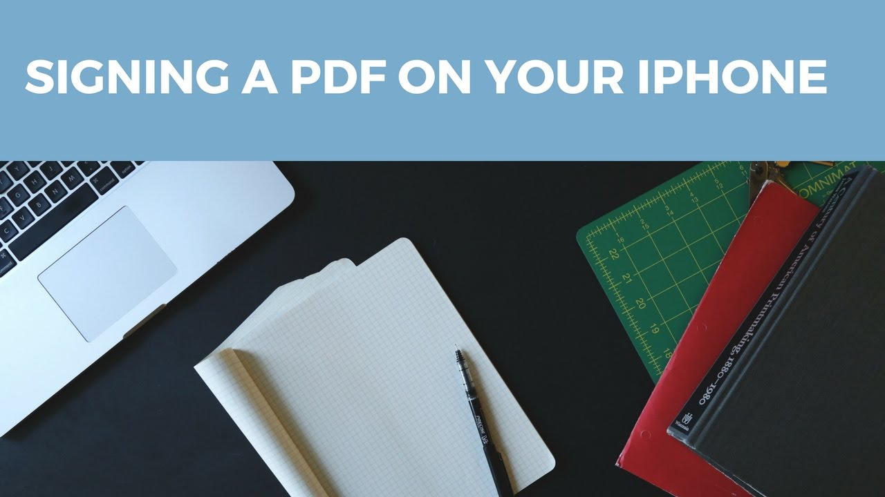 sign a pdf on iphone signing a pdf on your iphone 18009