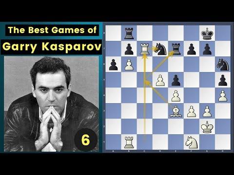 Strong Logical Moves - Kasparov vs Giorgadze   Garry Kasparov Chess Games Series Ep 6