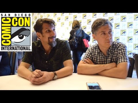 SDCC 2016  Lucky Yates  Chris Parnell Archer