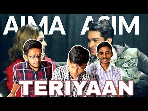 Indian Reacts To :- TERIYAAN | Asim Azhar | Aima Baig