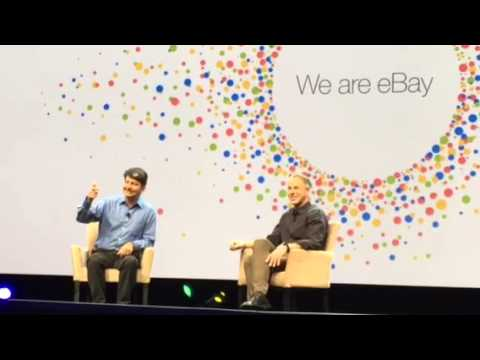 Pierre Omidyar talking eBay and technology