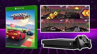 Horizon Chase Turbo - 4 Player Split-screen Race - Los Angeles Big Orange