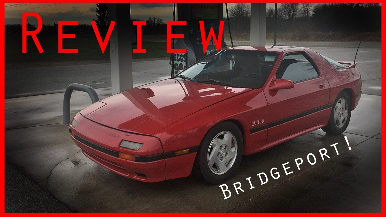 bridgeported 1988 mazda rx7 review - youtube