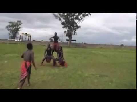 Black tigers acrobats