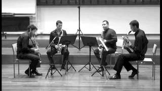 Cuarteto Skirion - Suite for Saxophone Quartet - P. Creston. III. Pastorale