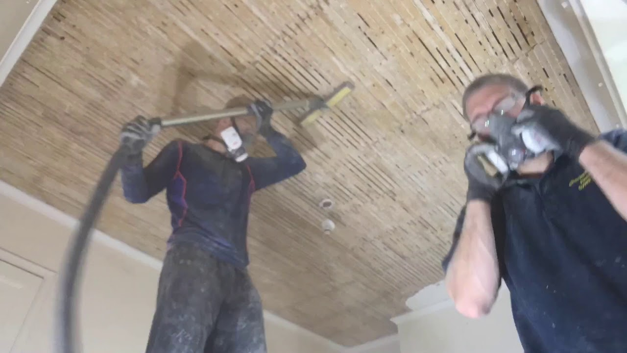 Remove And Replace A Lath Plaster Ceiling