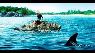 サーフィン中に負傷し満潮時には海に沈む岩場に取り残されたヒロインが...