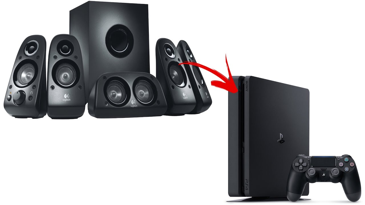 How to connect 5.1 PC speakers to PS4 - YouTube Slim Audio Systems on thin audio systems, vintage audio systems, pool audio systems, spy audio systems, compact audio systems, big audio systems, outdoor audio systems, party audio systems, shower audio systems,