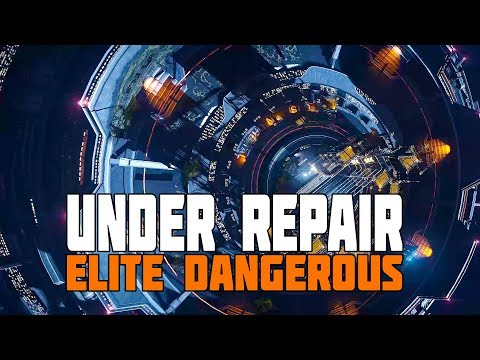 Elite Dangerous - Obsidian Orbital Repairs and Asteroid Base Construction