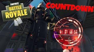 ROCKET LAUNCH COUNTDOWN - Fortnite Battle Royale
