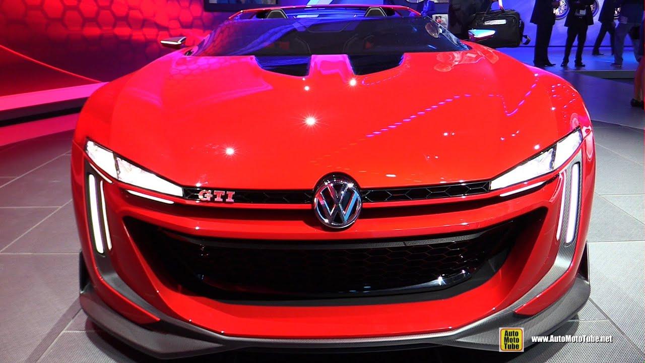 2015 Volkswagen Golf GTI Roadster Concept Exterior Walkaround