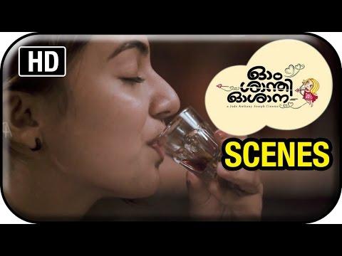Om Shanti Oshana Movie Scenes HD | Nazriya Nazim meets Vinaya Prasad | Nivin Pauly